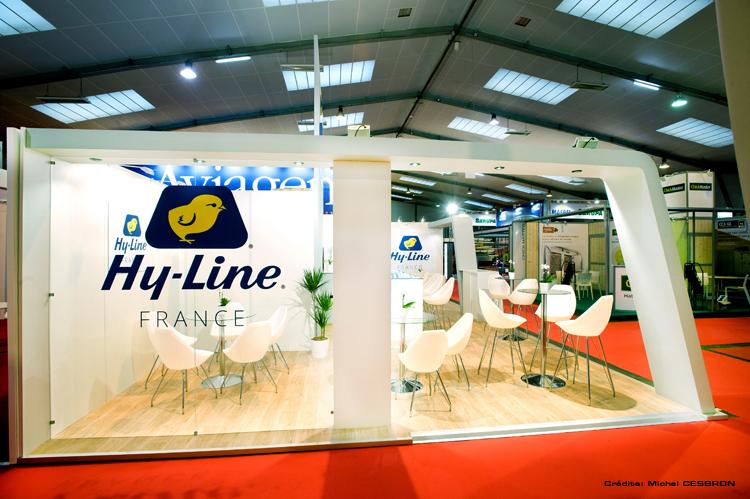 Stand hyline salon space for Salon du sandwich