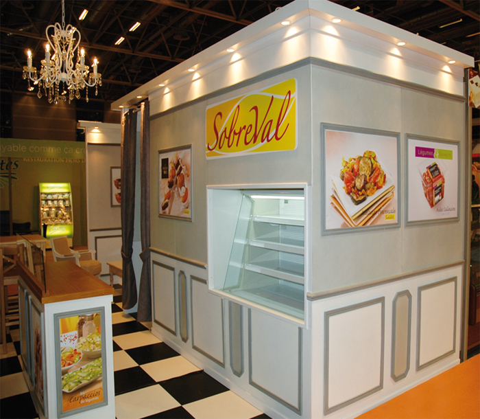 Stand sobreval salons sirha sandwich snack and show for Salon sandwich and snack show